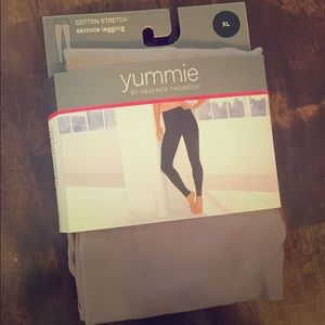 Yummie cotton stretch skinnie legging